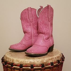 Ariat Leather Western Boots
